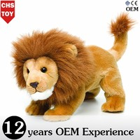 CHStoy stuffed brown lion animal toy