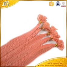 Fashionable U-tip 100% Remy Human Hair Extension, Keratin Fusion Tip 100% Remy Human Hair Extension