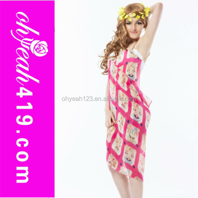 Full colors tripe beautiful sexy in stock sarong tenun