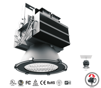 120W surface mounted high power led high bay light fixtures