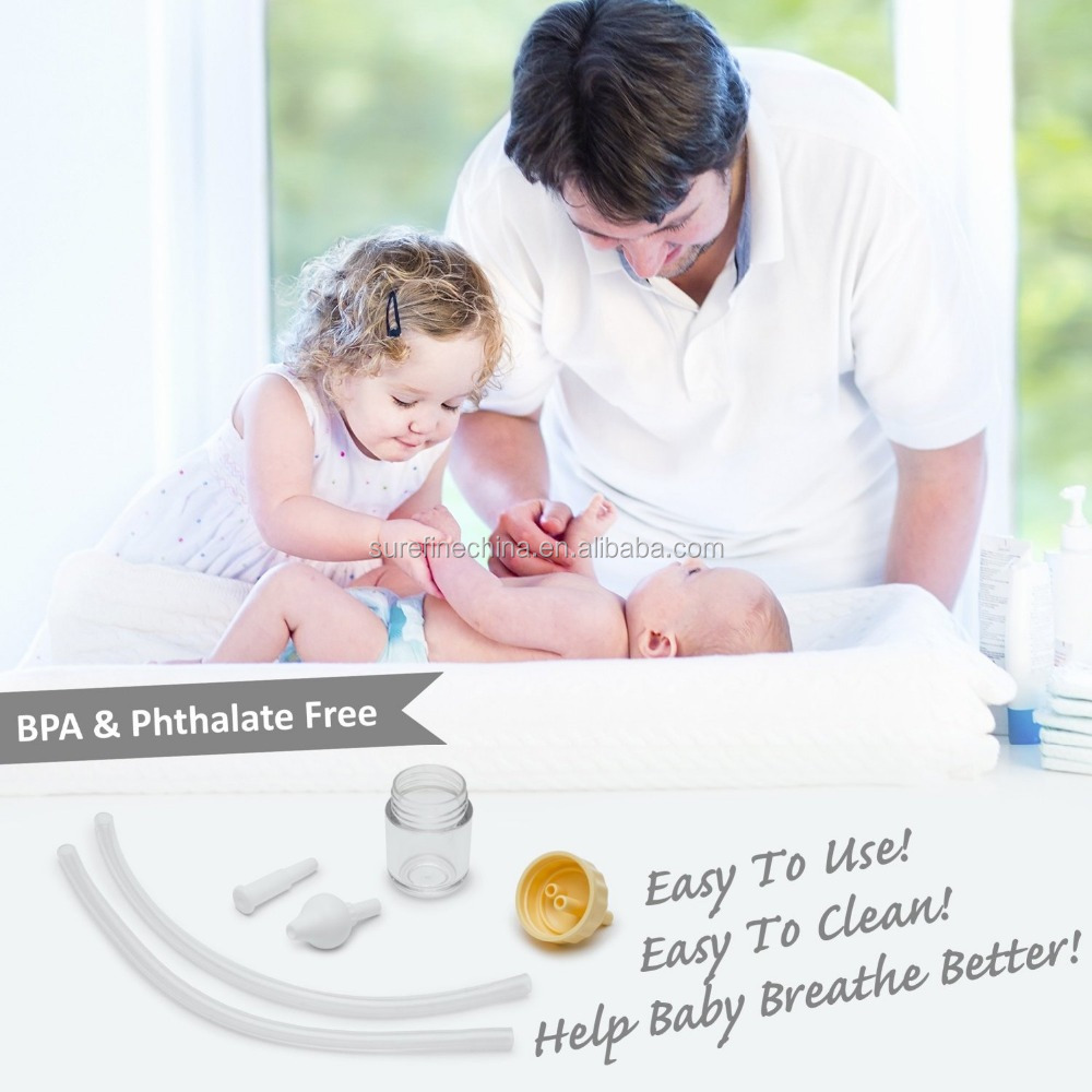 Baby Nasal Aspirator, Baby Snot Sucker, Baby Nose Cleaner, Nose Clean