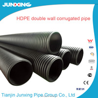 24 inch large plastic flexible drain pipe