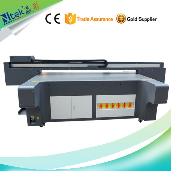 China manufacture supply large format stable performance uv flatbed printer for wallet / graphic printing for sale