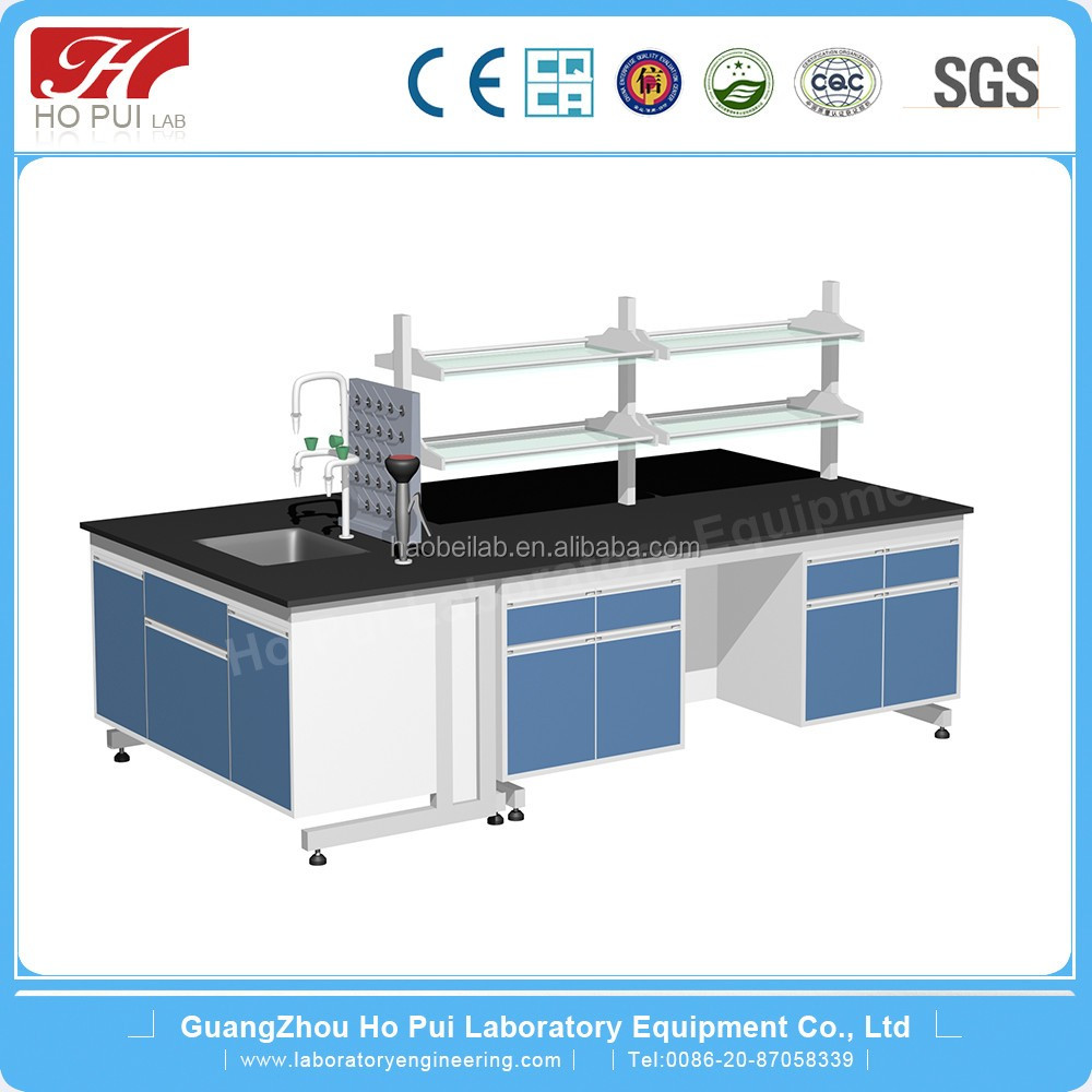 2016 Standard And Durable Lab Centre Bench School Science Lab Equipment In China