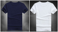 100% cotton crewneck t-shirts blank t-shirts