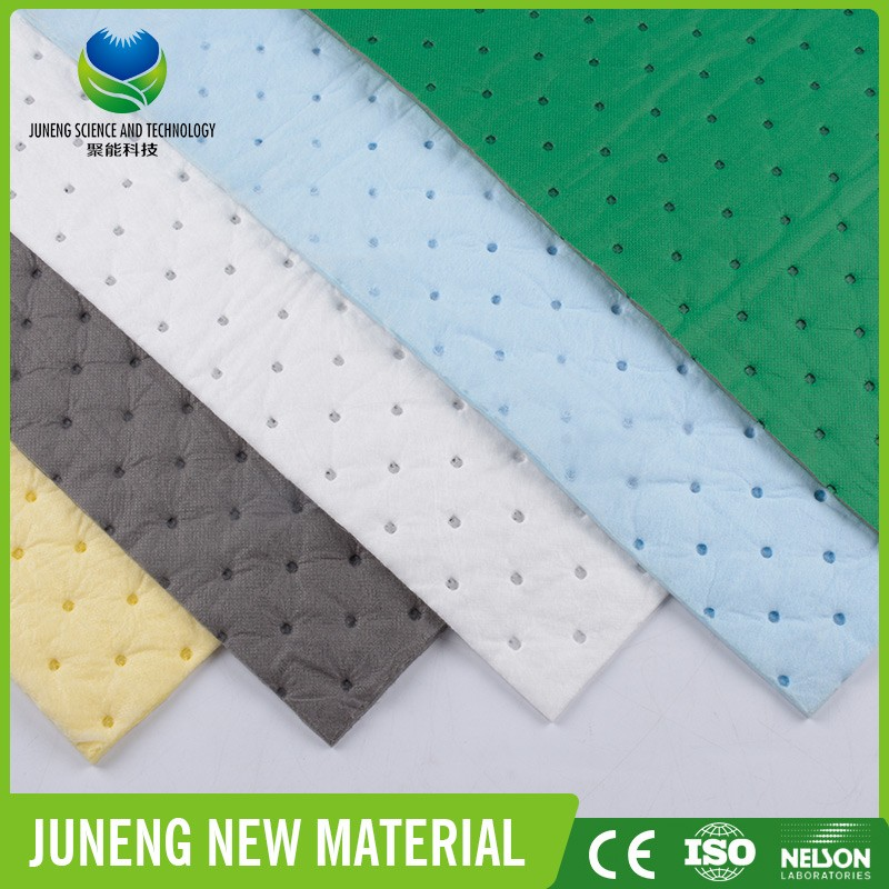 polypropylene melt blown efficient Type Oil Spill Absorbent car wash sheet