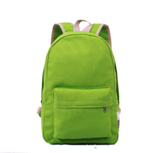 China manufacturer cheap eco friendly canvas waterproof backpack