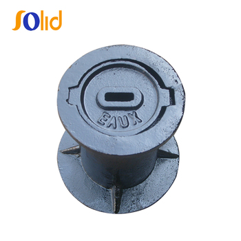 Casting iron surface box for fire hydrant/water meter/valve