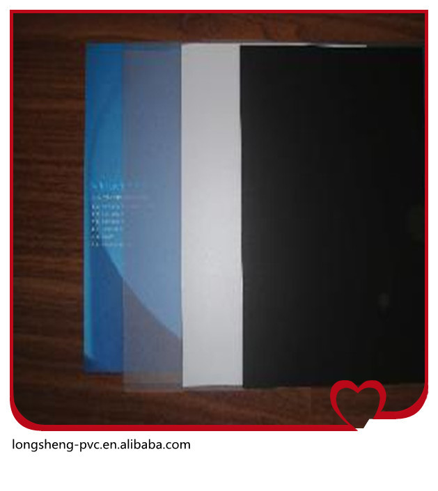 High quality material pvc id cards pvc plastic sheet in Jiangsu