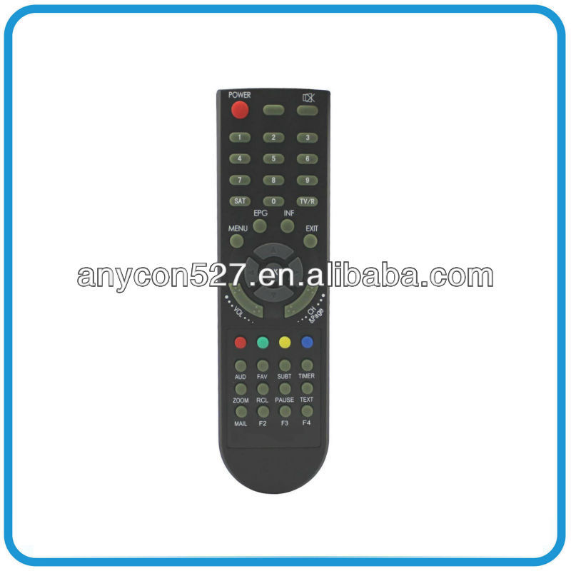 Simple easy to use akira universal tv remote control with big button, AN-4401