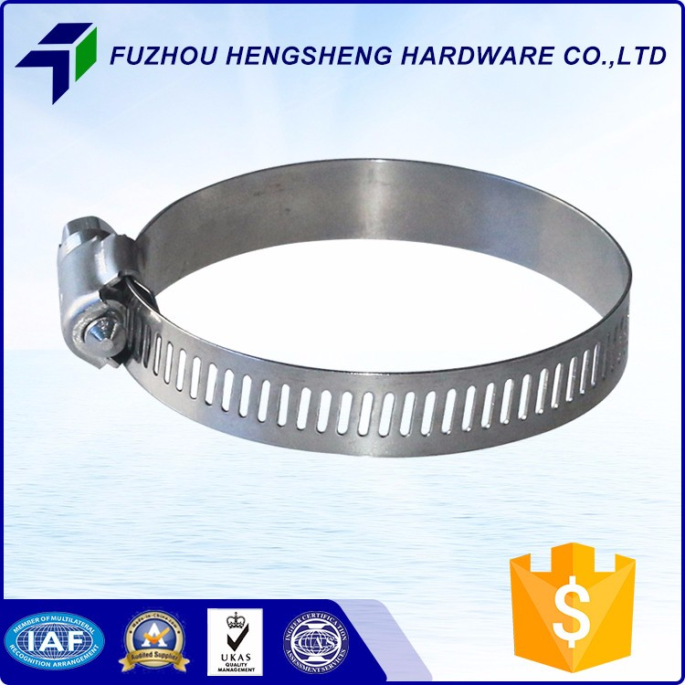 8mm Band Width SS201 American Type Hose Clamp