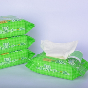OEM household biodegradable cleaning toilet seat wipes flushable wet wipes