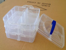 Functional Plastic Storage Box With Handle