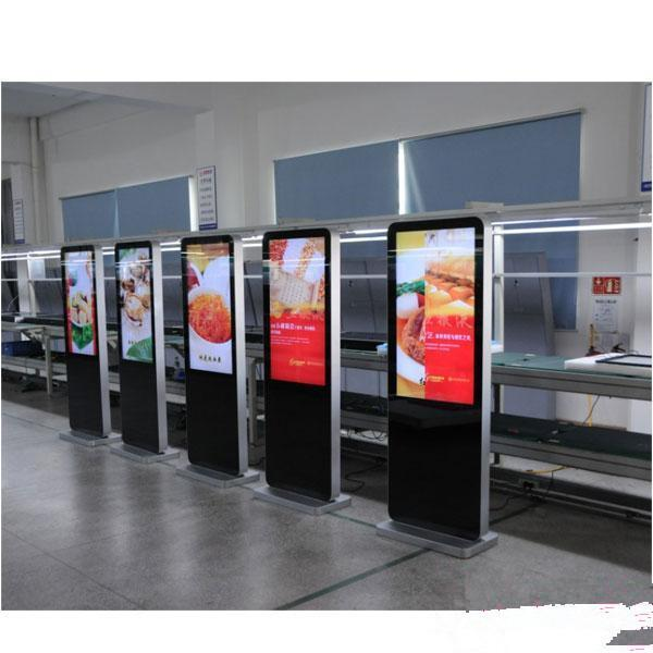 New hotel facilities self-standing advertiser P4 HD led display screen led monitor many inch type with video function