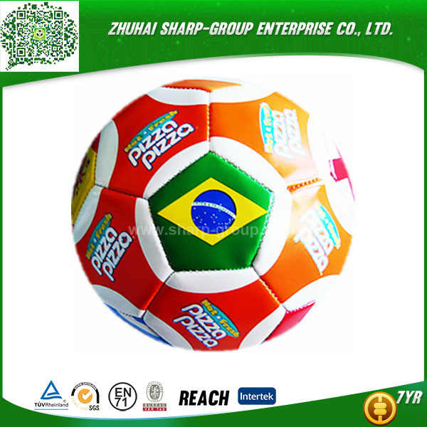 high quality Photo Printing laser hand sewn training soccer ball