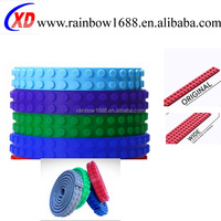 3.2cm Width silicone legoss block tape with sticky backing