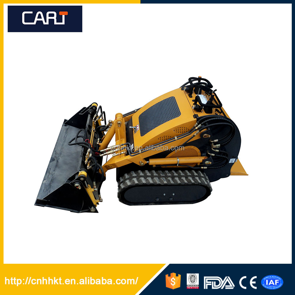 Low Price Track Skid Steer Loder with Capacity 380kg