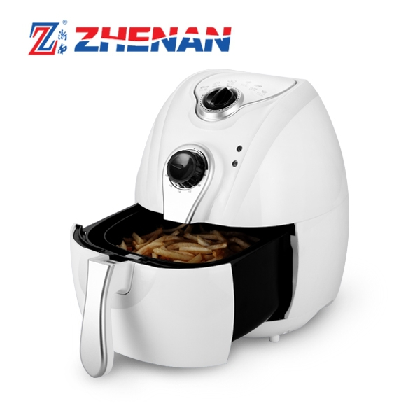 small kitchen appliance round PTFE hot air deep fryer without oil