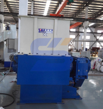 one shaft waste plastic shredder