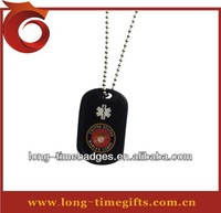 Cheap wholesale custom metal military dog tag
