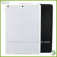 High quality Grooves in skin blank case for ipad 5,for ipad 5 groove case