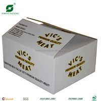 WAX POULTRY CORRUGATED BOX FOR SHIPPING FP805076