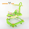 Alibaba Trade Assurance light weight new model outdoor baby walker with stopper and seat pad toy walker