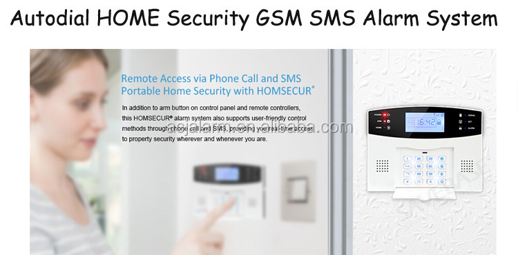 home security 99 wireless 8 wired zone alarm system