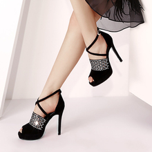 7438 feminine buy lady sandals online dressy sparkly sandals large stock