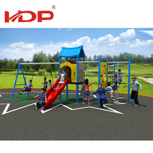Eco friendly plastic playground euqipment for kids outdoor