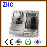 1P 2P 3P 4P 20A 25A 35A 63A 250V 500V 50/60Hz IP66 Isolation Chang over On off switch gear box waterproof for outdoor use
