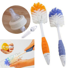Baby Bottle <strong>Brushes</strong> for Cleaning Kids Milk Feed Bottle Nipple Pacifier Nozzle Spout Tube Cleaning <strong>Brush</strong> Sets