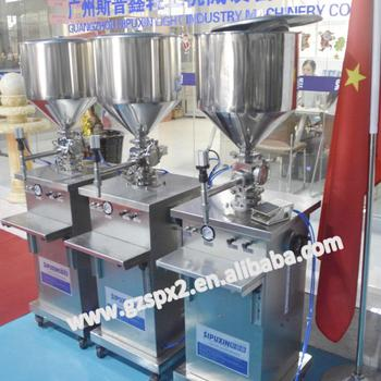 SIPUXIN Semi automatic shower gel,lotion,oil,liquid soap cream filling machine