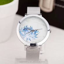 China Mini Word Women Watch Quarz Uhren,Alloy Belt Watches Women