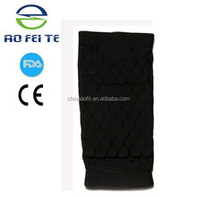 Alibaba Express elastic calf support soccer shin guard, compression leg sleeve from factory