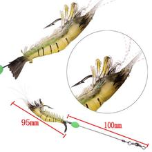 10CM 6g 5PCS Luminous Lures Artificial Soft Shrimp Lures/Hooks Wlures Soft <strong>Baits</strong> Soft <strong>Fishing</strong> Lures Smell <strong>Fishing</strong> <strong>Baits</strong>