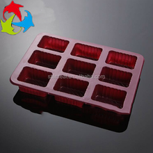 Food grade custom design chocolate blister tray candy insert tray thermoformed blister packing