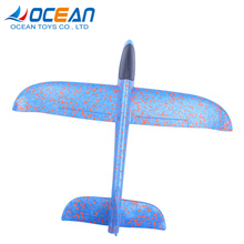 Children educational technology hand throw launch foam glider for hot selling