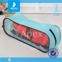 blue polyester cheap wholesale shoe and bag