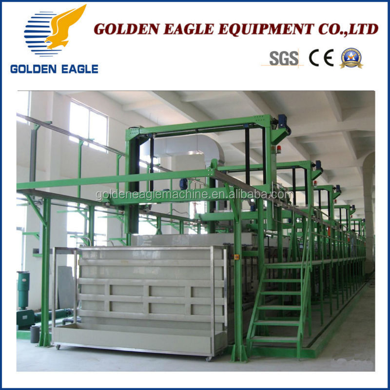 Rack electroplating metal chemicals electroplating Machine