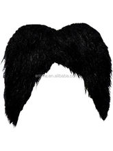 Hot sale artificial mustache fake beard mustache with high quality MU14129