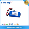 Small Rechargeable lithium ion/polymer battery 7.4v 12v 2000mah 2400mah battery operated led lights for clothing