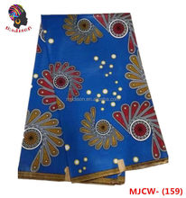 Print waxfabric african dashiki real wax printing cotton super african women loving hollandais design MJCW- 159