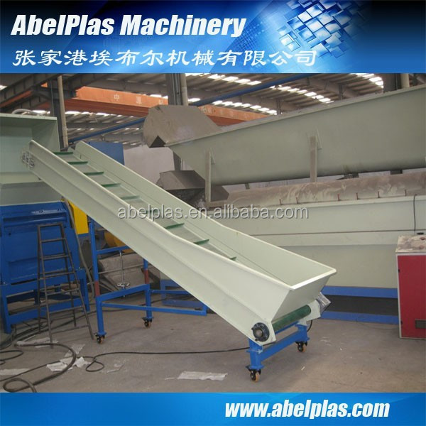 Pp Pe Plastic Film Crushing Washing Drying Line / Recycling Machine