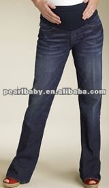 factory direct sell OEM of wholesale fashion designer maternity jean