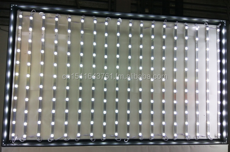 Frameless fabric light box WD10-1T 60mm thickness  high bright stretched textile light box
