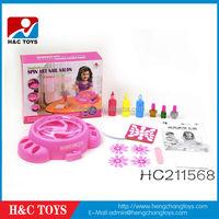 kids simulation nail art workshop, simulation nail beauty toy HC211568