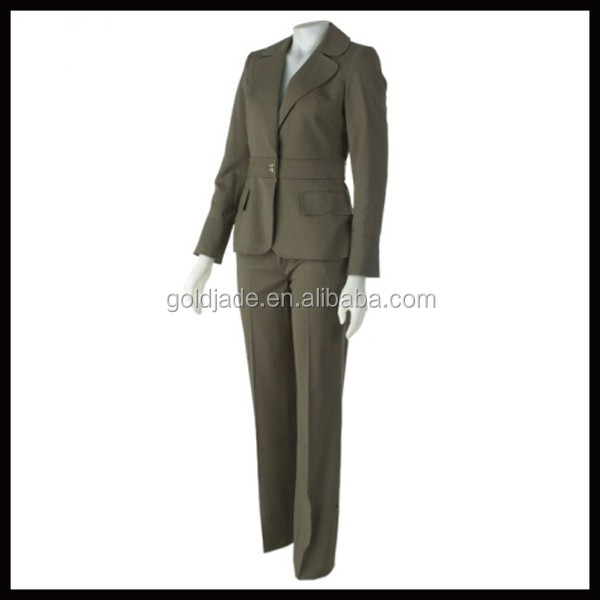 2015 wholesale alibaba OEM china supplier latest design formal ladies office wear