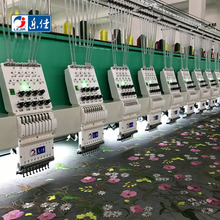 LEJIA 24 heads high speed flat computerized embroidery machine hot selling in pakistan