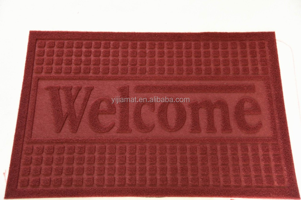 Cheap entrance PVC mat